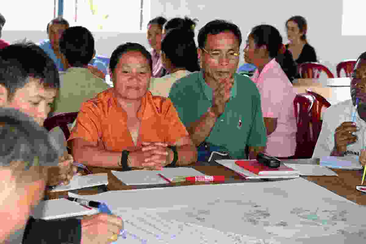 Community consultation played a big part in the preparation of the Viengxay Town Master Plan.