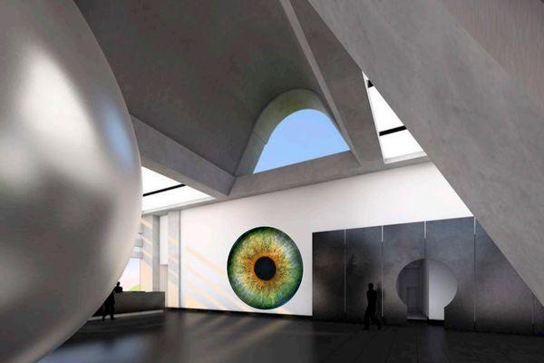 Arturo Muela, Paolo Ibarra and Daniela Gutiérrez – Colliding Universes in Saint Peter's Four Meter Woollen Eye.