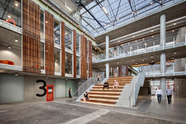 Sustainable Industries Education Centre – Tonsley Tafe by MPH Architects.