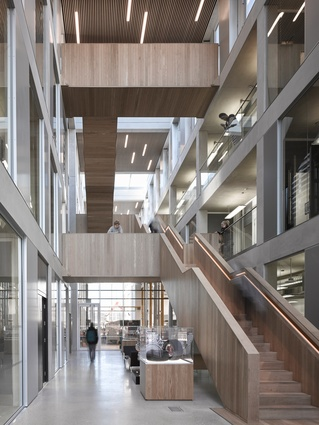 Lancaster University Engineering Building by John McAslan and Partners.