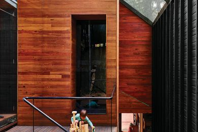 Dornoch Terrace House by James Russell Architect.