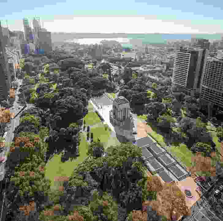 Anzac Memorial Centenary Extension by Johnson Pilton Walker with Government Architect NSW.