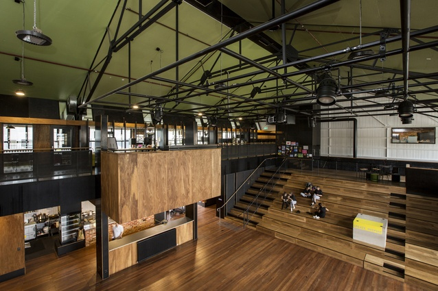 Albert Park College Environmental Arts Hub (Vic) by Six Degrees Architecture.