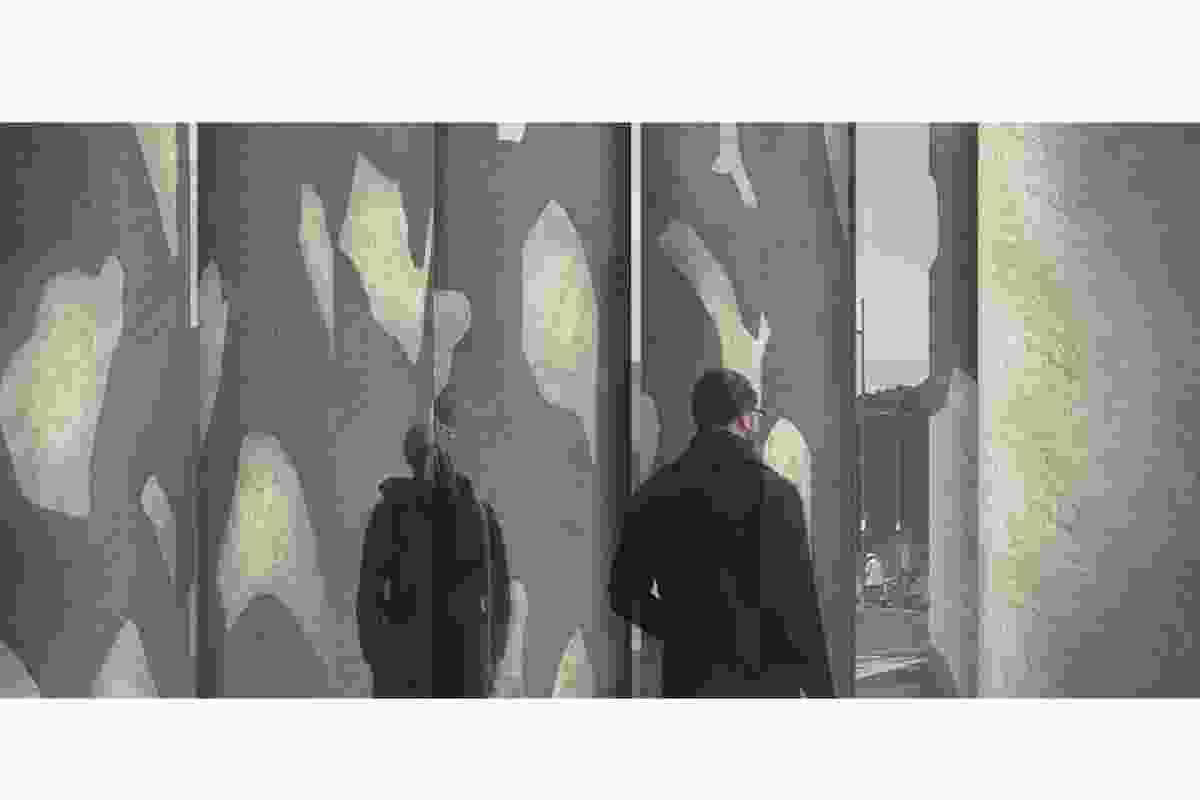 Finalist: Carrière de mémoire – Quarry of Memory by Andrew Sexton Architecture.
