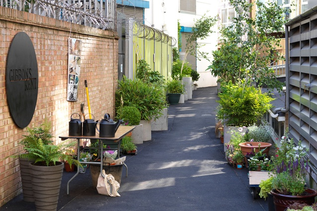 Australian 39 s laneway project opens in the uk architectureau for British landscape architects