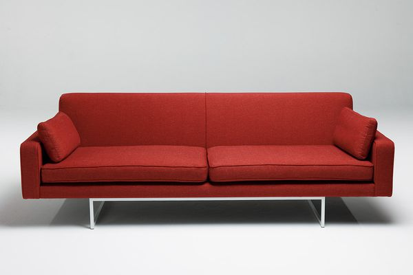 Slimline sofa from Temperature Design.