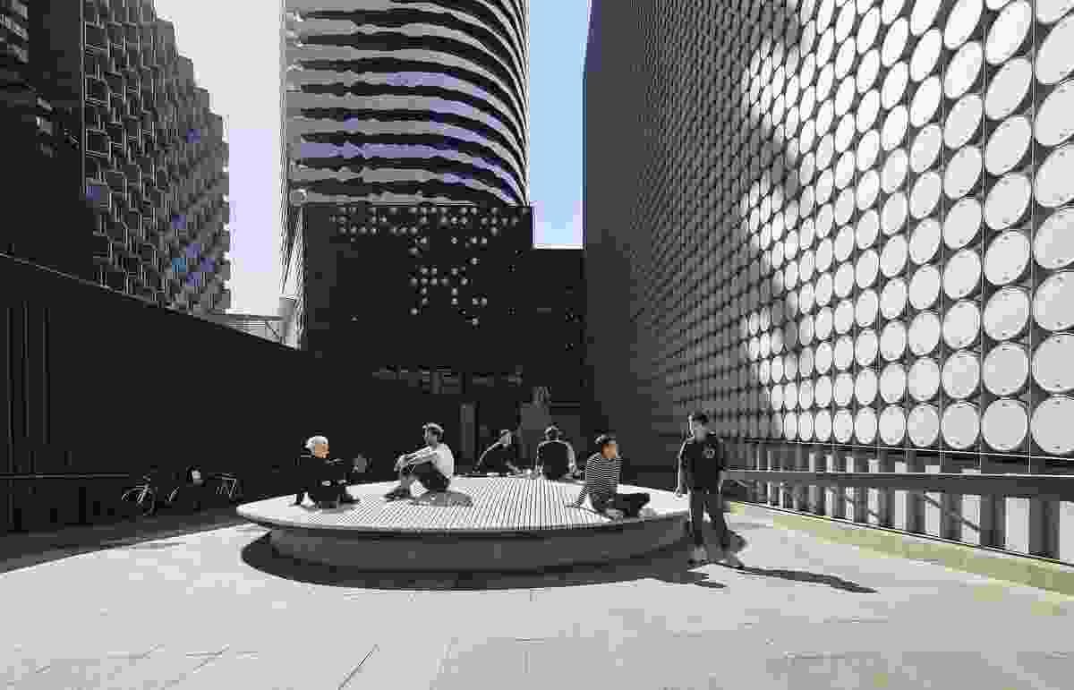 RMIT Building 100 Pedestrian Improvement by Openwork
