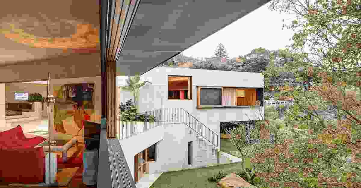 Coastal Garden House (NSW) by Neeson Murcutt Architects.