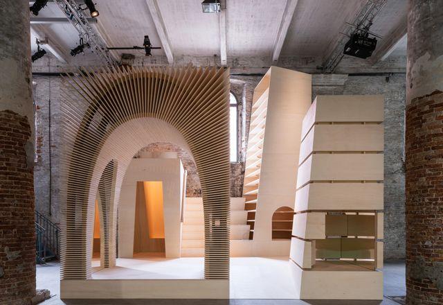 """Recasting"" by Alison Brooks Architects (United Kingdom)."