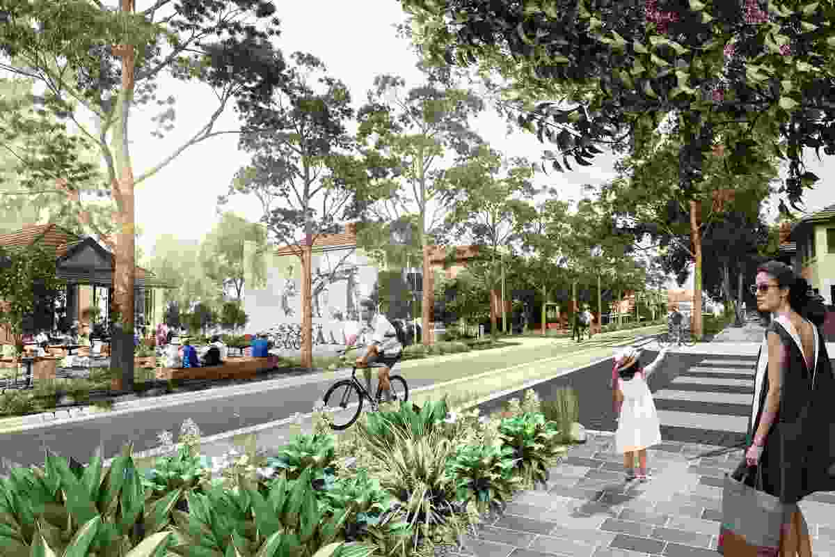 K2K proposal – Doncaster Avenue by Aspect Studios Urban Design and Landscape Architecture, SJB Architects and Urban Design, Terroir Architecture and Urban Planning and SGS Economics andPlanning.