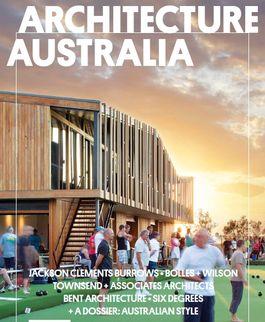Architecture Australia, July 2012