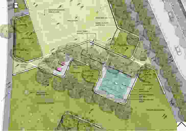 CLEC site stage 2 masterplan by MALA Studio.