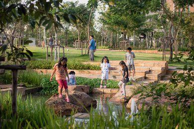 Chulalongkorn University Centenary Park in Bangkok by Landprocess.