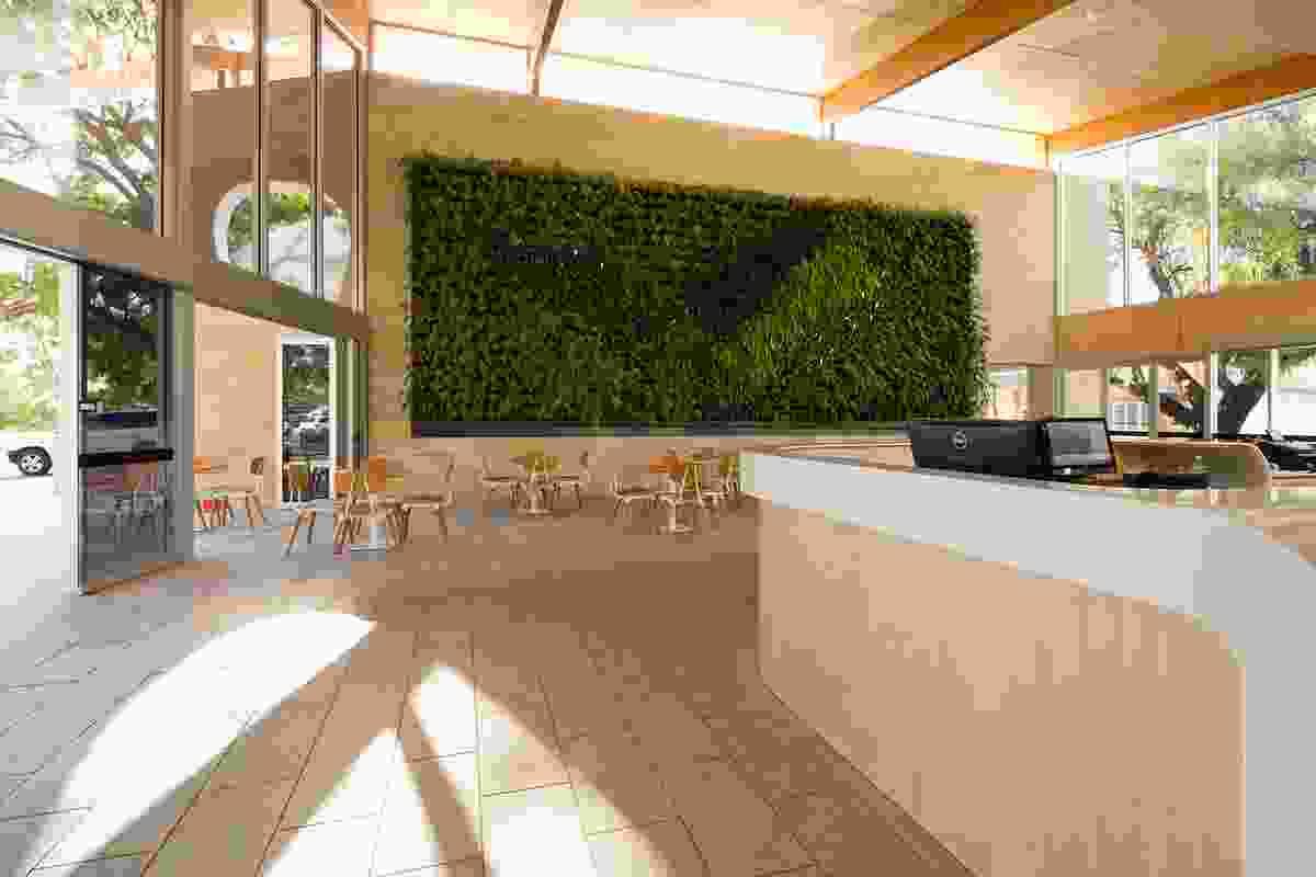 Andrew Volkmann of Donovan Payne Architects for Bold Park Aquatic.