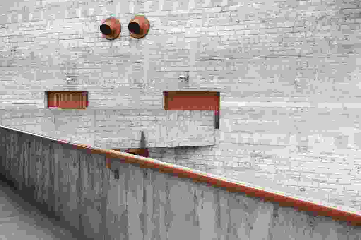 SESC Pompeia Factory leisure centre by Lina Bo Bardi.