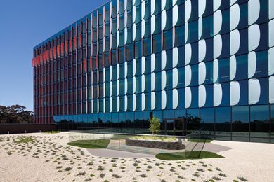 The Royal Children's Hospital by Billard Leece Partnership and Bates Smart.