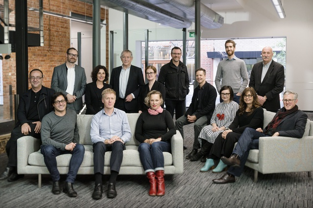 Kirsteen Mackay, second row, third from left, with the independent Design Review Panel.