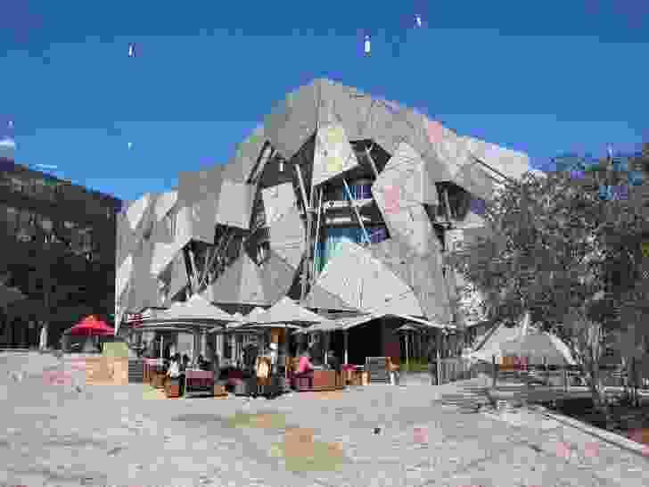 The existing Yarra building at Federation Square.