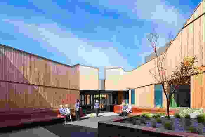 Mornington Centre (stage 2) by Billard Leece Partnership in Mornington, Victoria, a subacute project providing rehabilitation services.