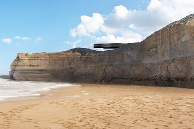 The proposed lookout at the Twelve Apostles by Denton Corker Marshall.