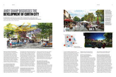 Landscape Architecture Australia 136 preview: Curtin City development.