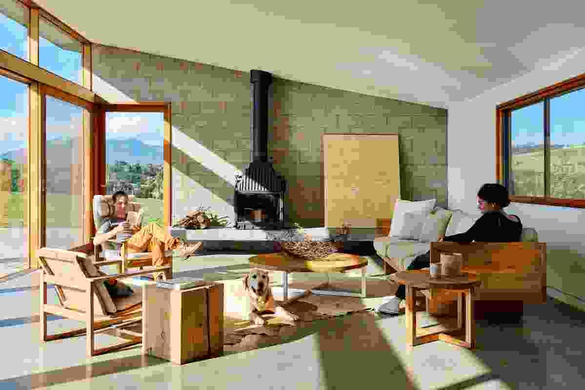 Yarra Valley House by Folk Architects.