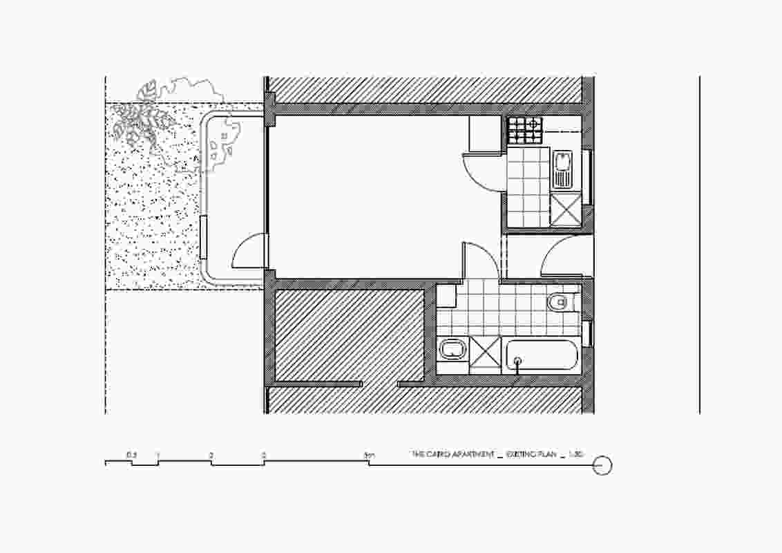 The Purple Rose of Cairo floor plan, by Architecture Architecture (2012).