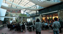 The RAIA Tasmania Chapter 'Hypothetical', one of a series of ongoing arts events planned for the atrium.