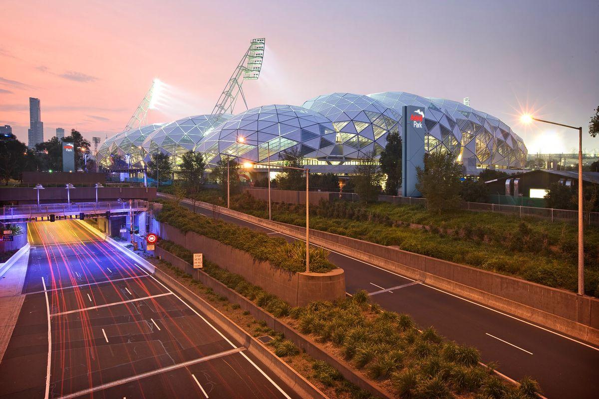 AAMI Park wins at World Stadium Awards   ArchitectureAU