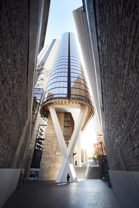 The EY Centre (NSW) by FJMT.