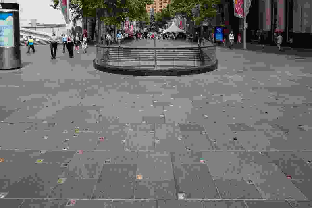 """Reflection"" Memorial Martin Place by Johnson Pilton Walker and Jess Dare."