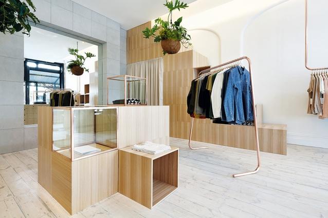 Kloke retail store in Melbourne, designed in 2013.