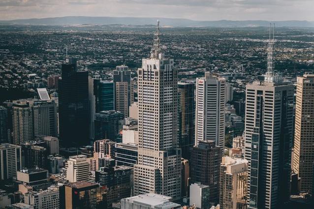Melbourne CBD.