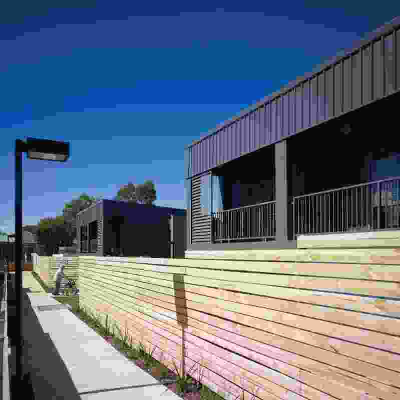 The Wagga project covers several sites in the neighbourhood. Like Seven Hills, it combines single-storey villas and two-storey townhouses.