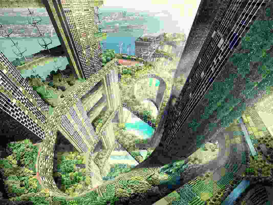 Vertical City by WOHA.