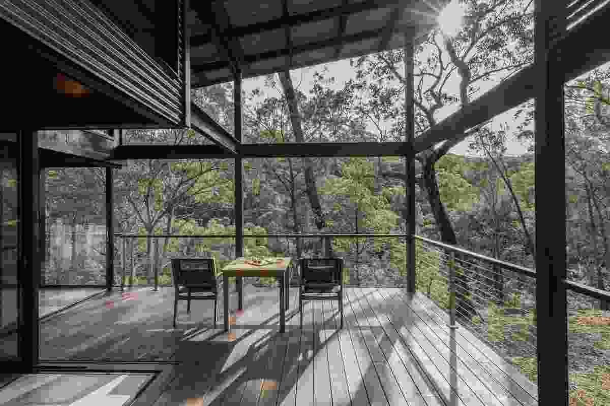 Spicers Sangoma Retreat by Barbara Tarnawski Architects.