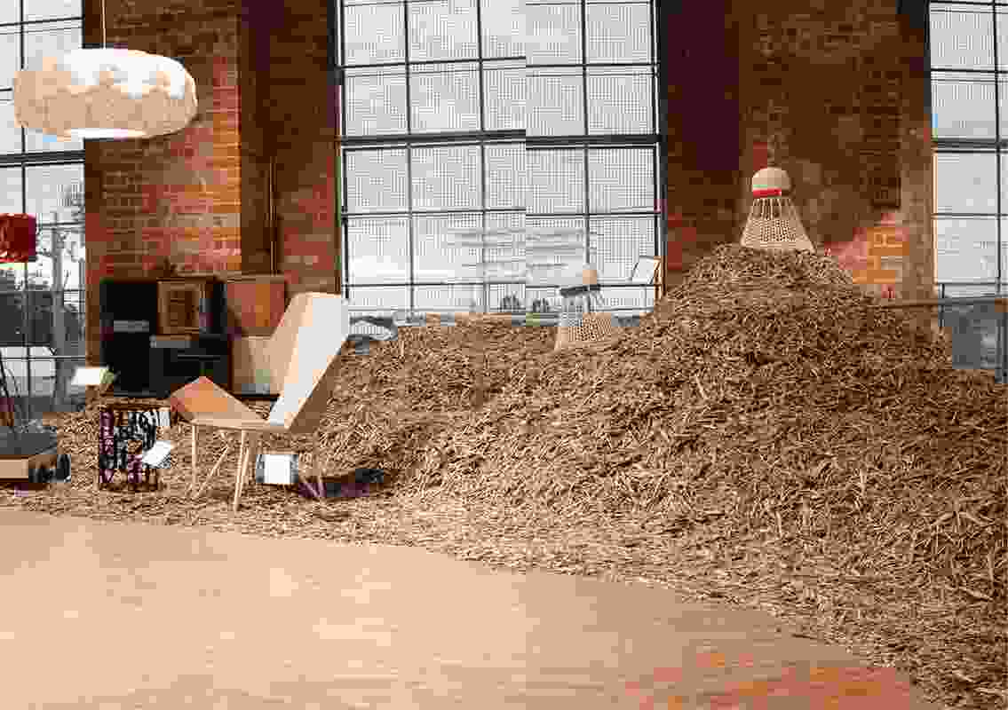 Installation Design – Fringe Furniture 2010 by Edwards Moore.