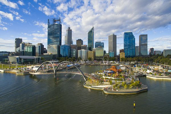 Elizabeth Quay by ARM + TCL.