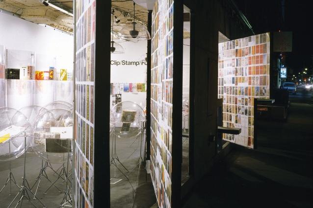 <em>Clip/Stamp/Fold</em> exhibition.