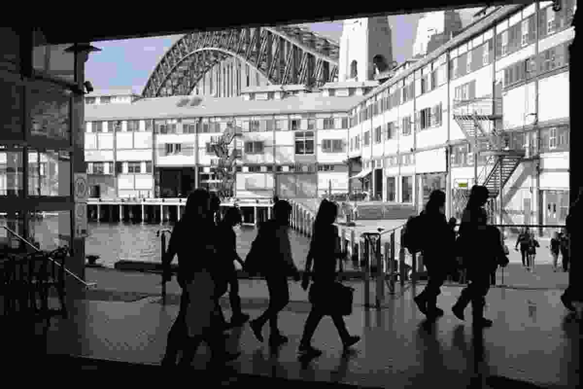 Sydney Architecture Walks with guide Eoghan Lewis.