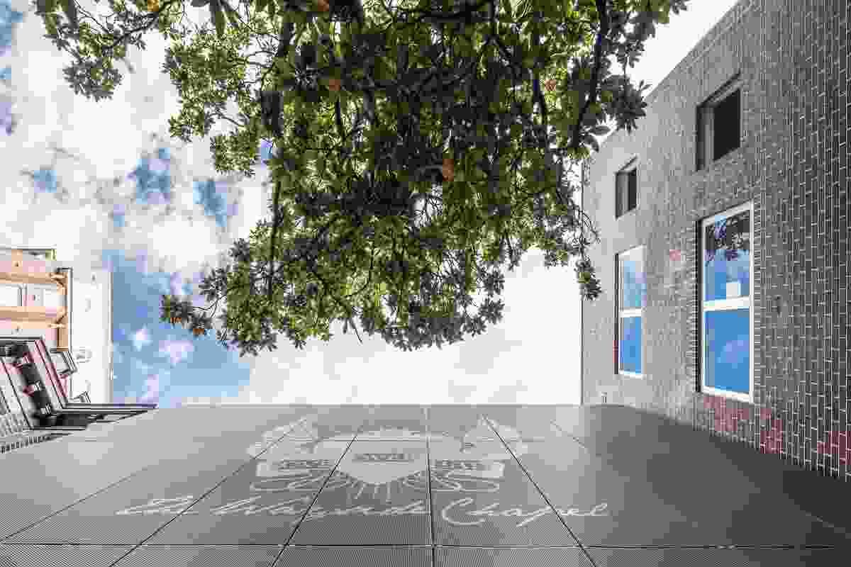 The Wayside Chapel by Environa Studio.