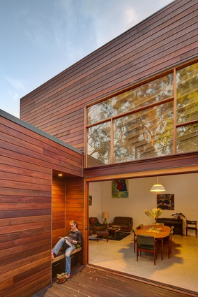 Breuer House in Sydney's Forestville embodies many sustainable design concepts, from high-spec windows and PV panels to capacity