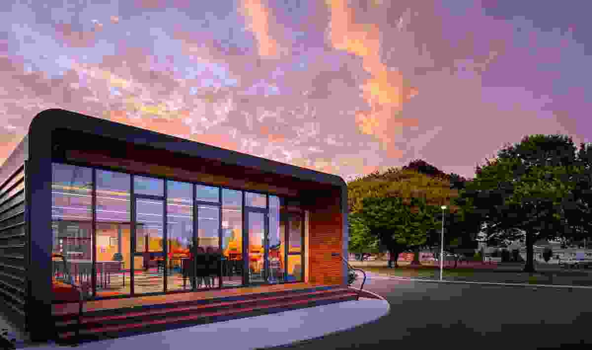 Ulverstone Secondary College Year 11 and 12 by Philp Lighton Architects.