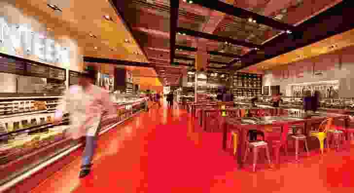 2012 Retail Design Award: Loblaws Maple Leaf Gardens by Landini Associates.