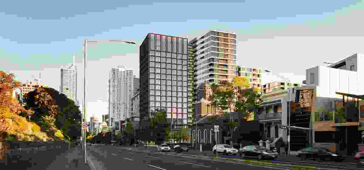 King Street student accomodation building by Bates Smart.