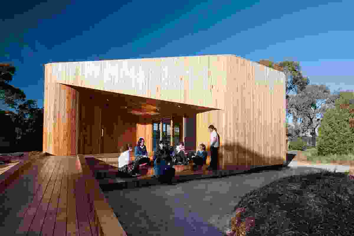 Bentleigh Secondary College Meditation and Indigenous Culture Centre by Nicholas Cini of dwp|suters.