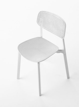 Colander chair for Kristalia
