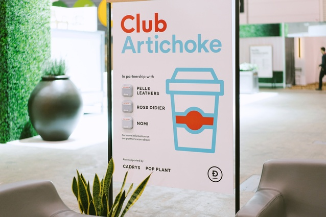 Club Artichoke at Denfair 2017