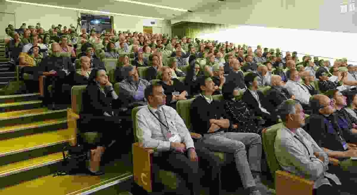 Attendees at the 2018 Asia Pacific Architecture Forum.
