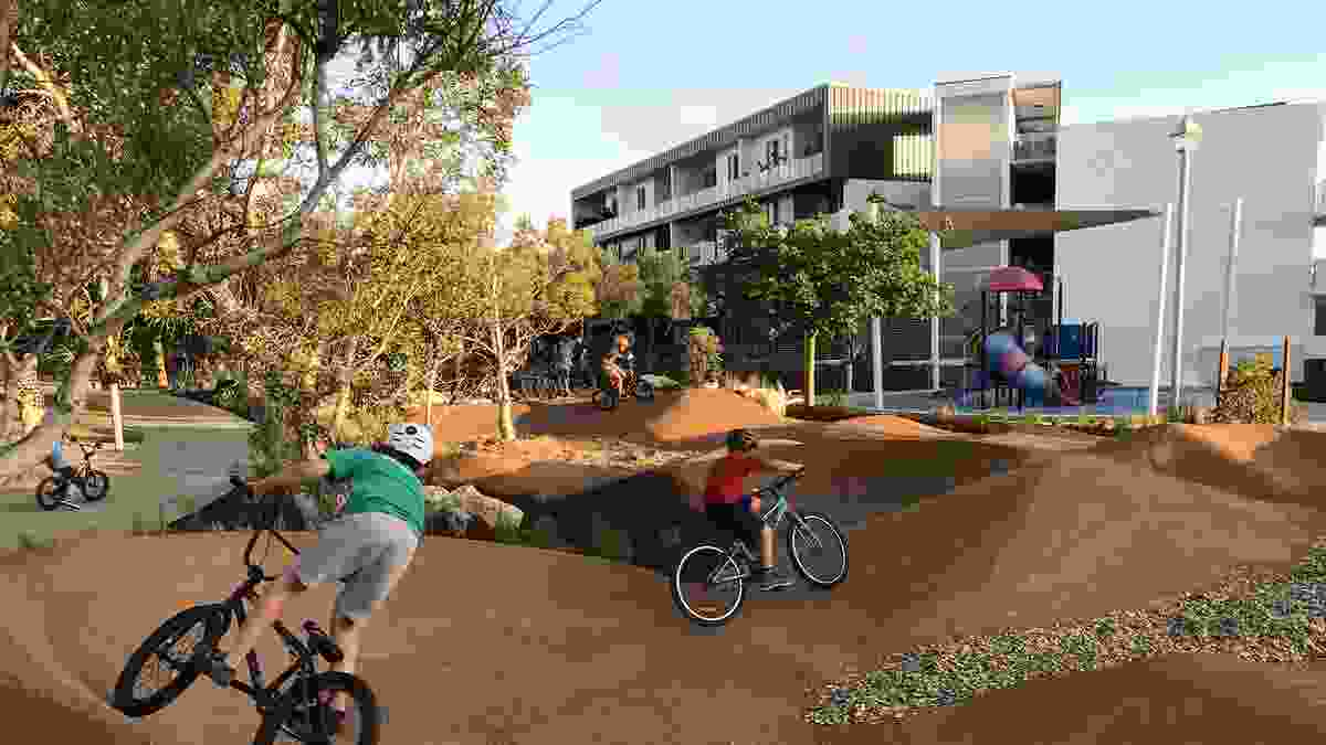 Barrow Park Play Space by Ecoscape won a Landscape Architecture Award in the Play Spaces category.